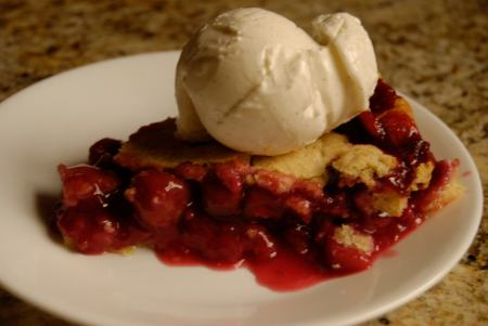 Cherry Red Raspberry Pie