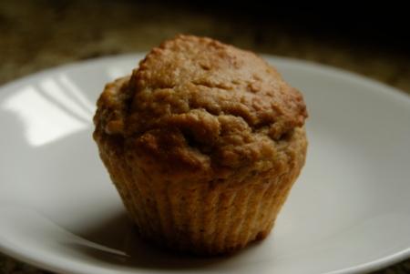 Banana Oat Muffins 001